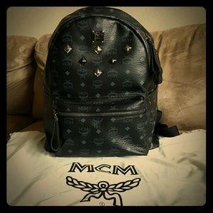 MCM Handbags - MCM studded backpack