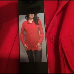 Central Park West Tops - Red blouse
