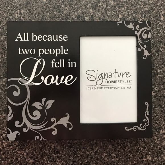 Other | All Because Two People Fell In Love Frame | Poshmark