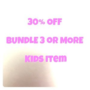 Carter's Other - 30% off on Kids Item bundle( 3 or more items)