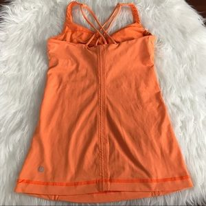 lululemon athletica Tops - Lululemon Orange Free To Be Strappy workout Tank
