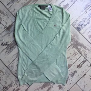 Minty Lacoste silk/cashmere sweater