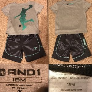 Boys Short Outfit. Size 18 mo.