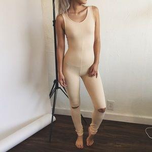 Dresses & Skirts - • Nude Jumpsuit • LAST One