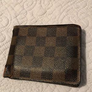 FINAL SALE Men's Louis Vuitton Multiple Wallet