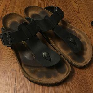 c14b80bf4648 Birkenstock Shoes - birkenstock ramses black sandals size 41
