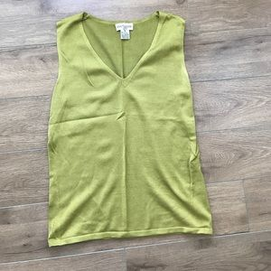 Ann Taylor Sweaters - Ann Taylor silk sweater vest tank top