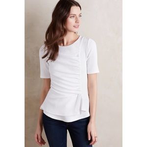Anthropologie Tops - Anthro Ripple Front Top
