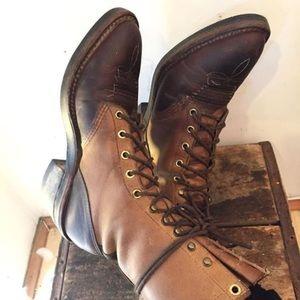 Chippewa Shoes - Vintage Chippewa Boots - fit like an 8