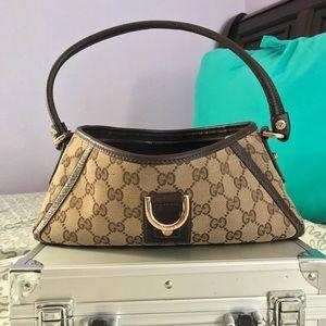Gucci Handbags - GUCCI :| Monogram D-Ring Abbey Handbag.