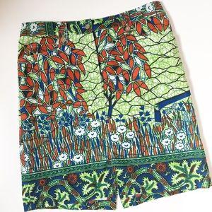 J. McLaughlin Dresses & Skirts - African Printed Skirt