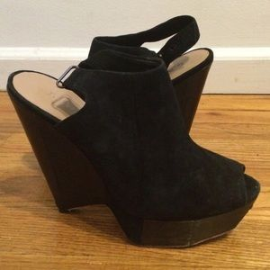 L.A.M.B. Shoes - LAMB Suede wedge heel