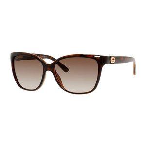 Gucci Havana Sunglasses (Square Acetate)