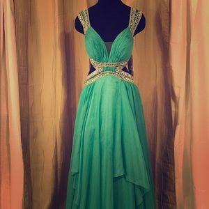 Sherri Hill Dresses & Skirts - Sherri Hill Prom Dress in Seafoam Style 9728 💕