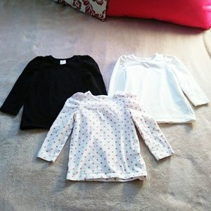 H&M Other - 12-18mo Girls H&M Shirts Lot 3