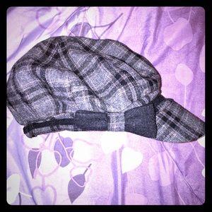 Accessorize Accessories - Accessorize Gray Plaid Hat