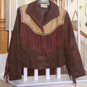 Scully Jackets & Blazers - Vintage Scully  genuine leather Fringe jacket