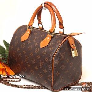 Louis Vuitton Handbags - ♨️AUTH LOUIS VUITTON VINTAGE SPEEDY 25