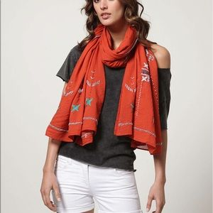 Antik Batik Accessories - Antik Batik Hand Embroidered Scarf