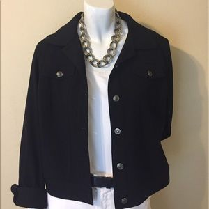 "Raphaela by Brax Tops - Cute Black ""Jean Style"" Jacket"