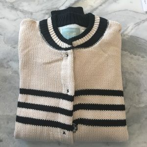 Sweaters - Striped bomber