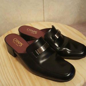 Chaps Shoes - Chaps Bernadette Leather Mules