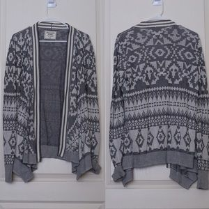 Abercrombie & Fitch Sweaters - Abercrombie&fitch Patterned Open Cardigan size M