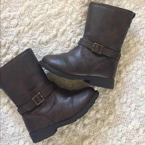 Carter's Other - NWOT Carters size 7 Toddler Brown Boots
