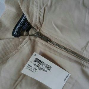 AA Lightweight tan bomber jacket