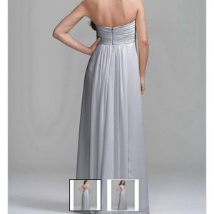David's Bridal Dresses & Skirts - David's Bridal Marine blue bridesmaids dress vc307