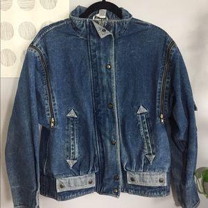 vintage mod denim jacket