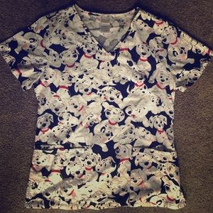 Disney Other - 🐾❤️Disney Scrub Top❤️🐾