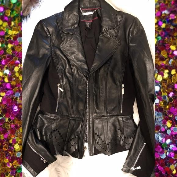 White House Black Market Jackets & Blazers - ⚡️ $90 FIRM 24 HR SALE ⚡️White House B Gen Leather