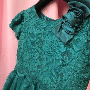 Sorbet Other - Sorbet Emerald Green Party Dress