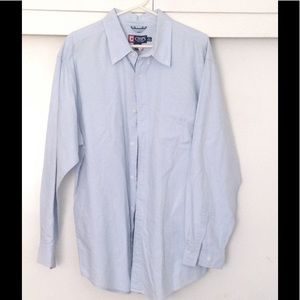 Chaps Other - CHAPS Button Down Shirt, Long Sleeve XL, Blue