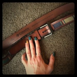 Columbia Other - Genuine Leather Belt