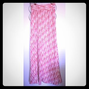 Dress Barn Dresses & Skirts - Roz & Ali pink long skirt