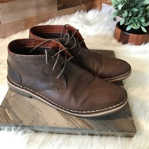 Steve Madden Other - Steve Madden Hestonn leather brown boots