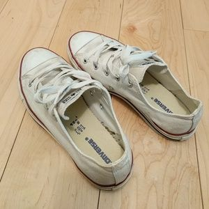 Converse Other - Converse kids white sneakers