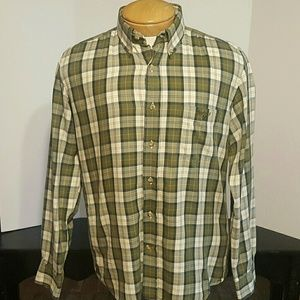Barbour Other - Barbour Regular Fit Plaid Shirt Size Small