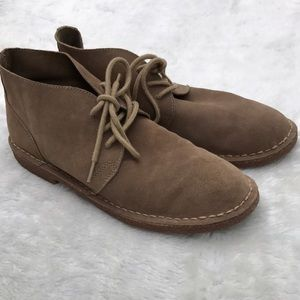 Perry Ellis Other - Perry Ellis America Tan Men's Ankle Boots Suede 10
