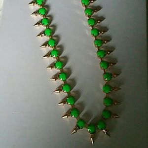 Jewelry - Art deco green necklace