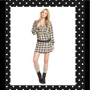 Denim & Supply Ralph Lauren Dresses & Skirts - NWOT Denim & Supply Flannel Shirt Dress Grunge
