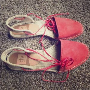 Dolce Vita Shoes - Dolce Vita ankle lace up espadrilles