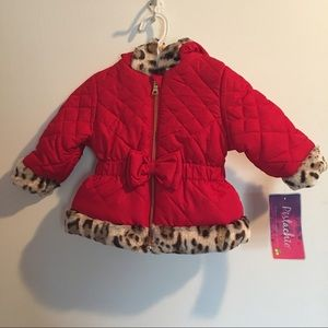 Other - Adorable red winter coat