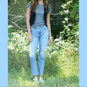 AG Adriano Goldschmied Denim - AG Alexa Chung for AG Sabine Straight Leg Jeans 24