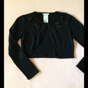 Bonnie Jean Other - Girls Cute Crop Sweater