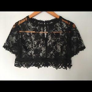 American Vintage Tops - Vintage lace top