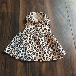 Carter's Other - Newborn Sleeveless Cheetah Dress