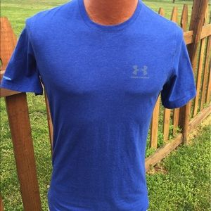 Under Armour Other - Under Armour Mens Charged T Shirt Size Small Loose